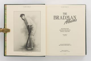 The Bradman Albums. Selections from Sir Donald Bradman's Official Collection. Volume 1: 1925-1934... Volume 2: 1935-1949