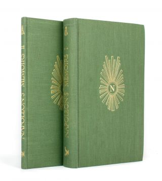 Napoleon's Memoirs. Edited [and translated] by Somerset De Chair. Golden Cockerel Press, Napoleon...