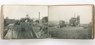 New South Wales, 1908 [cover title]. An album of 72 original large-format vintage gelatin silver...