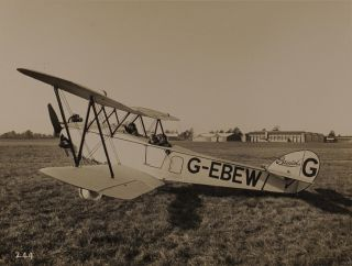 An impressive collection of nineteen vintage gelatin silver photographs of Bristol aircraft from the 1910s to the 1930s