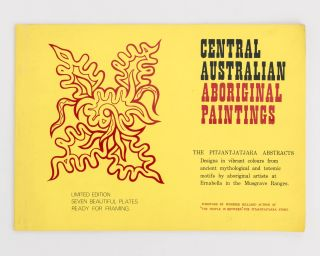 Central Australian Aboriginal Paintings. The Pitjantjatjara Abstracts. Designs in Vibrant Colours...