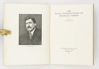 The Plant Introductions of Reginald Farrer. E. H. M. COX